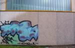 Graffiti chemisch Behandlung, Oberfläche Graffiti Entfernung, Bautenschutz Graffiti